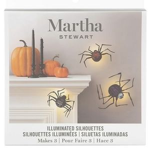 Spooky LED Halloween Spiders